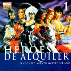 Cómics: HEROES DE ALQUILER VOLUMEN 1.PANINI.COMPLETA.3 TOMOS.PERFECTA.. Lote 48545808