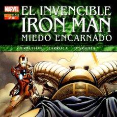 Cómics: EL INVENCIBLE IRON MAN VOLUMEN 2.PANINI. LOTE PRIMEROS 18 NÚMEROS.PERFECTA.. Lote 48486204