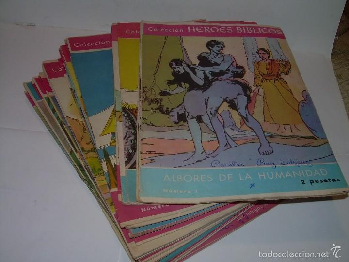 COLECCION DE HEROES BIBLICOS.....DEL Nº. 1 AL 42. (Tebeos y Comics - Comics Colecciones y Lotes Avanzados)