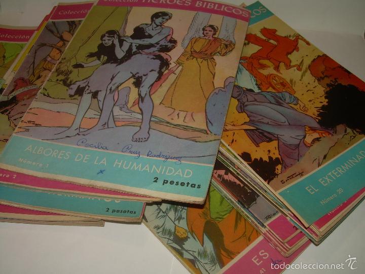 Cómics: COLECCION DE HEROES BIBLICOS.....DEL Nº. 1 AL 42. - Foto 3 - 57189367