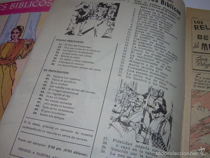 Cómics: COLECCION DE HEROES BIBLICOS.....DEL Nº. 1 AL 42. - Foto 4 - 57189367