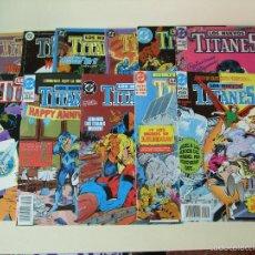 Cómics: LOTE 11 CÓMICS LOS NUEVOS TITANES VOL. 2 - EDICIONES DC ZINCO Nº 10 11 13 14 17 24 26 28 29 32 Y 36. Lote 57283120