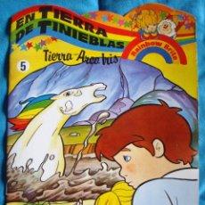 Cómics: RAINBOW BRITE 2 CUENTOS TIERRA ARCO IRIS GAMA 5 TIERRA DE TINIEBLAS-6 ATAQUE A RAINBOW LAND- NUEVOS. Lote 57287827