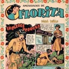 Cómics: FLORITA,LOTE 12 TEBEOS ORIGINALES DEL 69 AL 80,(PROCEDE DE ENCUADERNACIÓN).EDITORIAL CLIPER. Lote 57345724