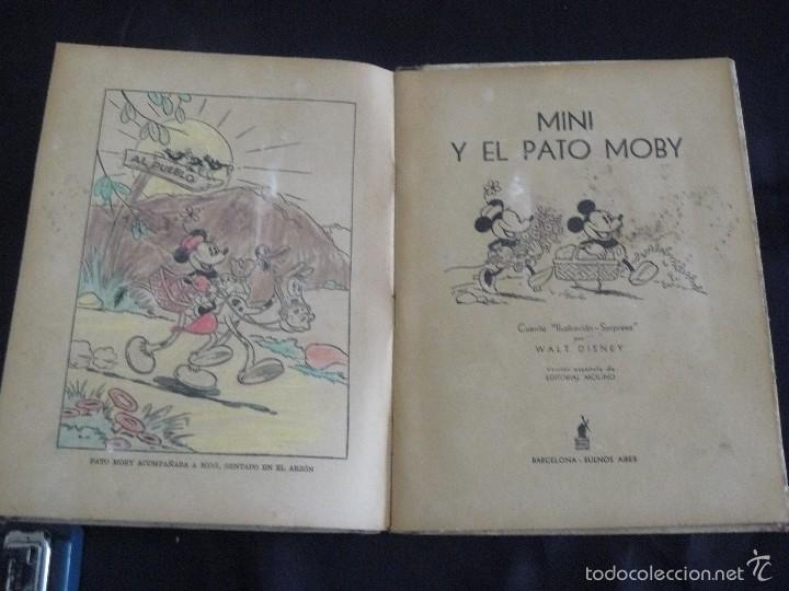 Cómics: MINI Y EL PATO MOBY, EDITORIAL MOLINO, 1934, ILUSTRACION SORPRESA - Foto 3 - 57380214
