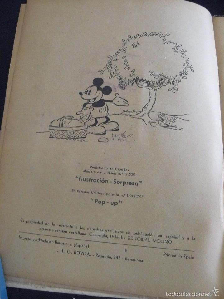 Cómics: MINI Y EL PATO MOBY, EDITORIAL MOLINO, 1934, ILUSTRACION SORPRESA - Foto 4 - 57380214