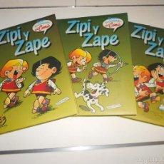 Comics : GRAN ENCICLOPEDIA DEL COMIC: ZIPI Y ZAPE – TOMOS 1, 2 Y 3. Lote 57401739