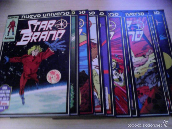 NUEVO UNIVERSO MARVEL. STAR BRAND. 1 AL 10 (Tebeos y Comics - Comics Pequeños Lotes de Conjunto)
