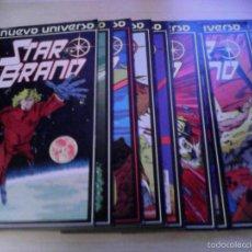Cómics: NUEVO UNIVERSO MARVEL. STAR BRAND. 1 AL 10. Lote 57425940