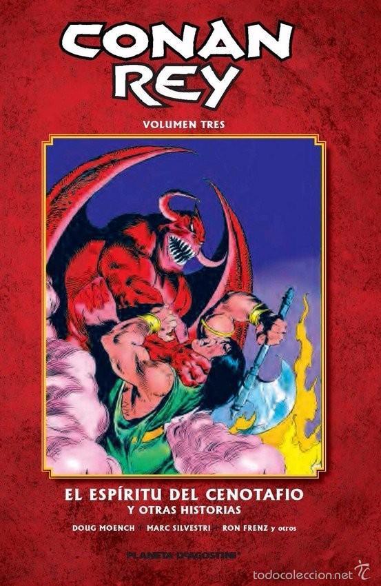 CONAN REY - VOLUMEN 3 - EL ESPÍRITU DEL CENOTAFIO Y OTRAS HISTORIAS - PLANETA (Tebeos y Comics - Comics otras Editoriales Actuales)