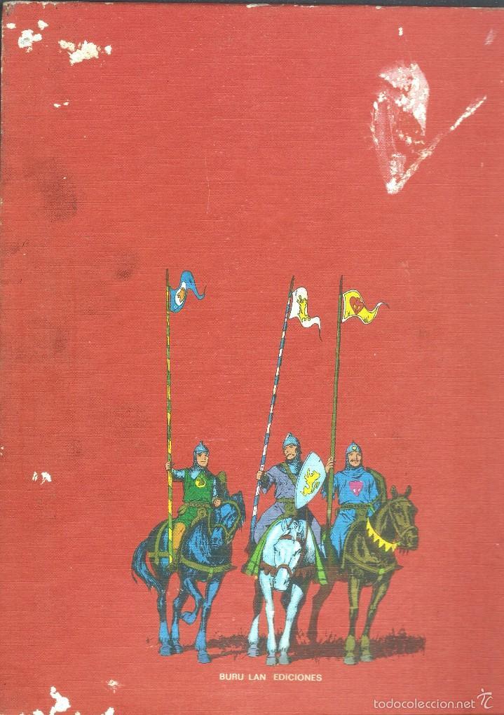 Cómics: PRÍNCIPE VALIENTE - LOS CABALLEROS DE LA TABLA REDONDA HEROES DEL COMIC TOMO I - BURU LAN ED., 1972. - Foto 3 - 57470522