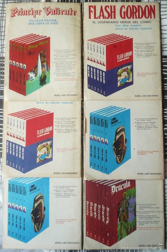 Cómics: SEIS COMICS DEL PRINCIPE VALIENTE - Foto 2 - 57496548