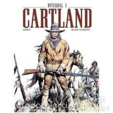 Cómics: CARTLAND INTEGRAL 1 HARLE BLANC-DUMONT. Lote 57507369