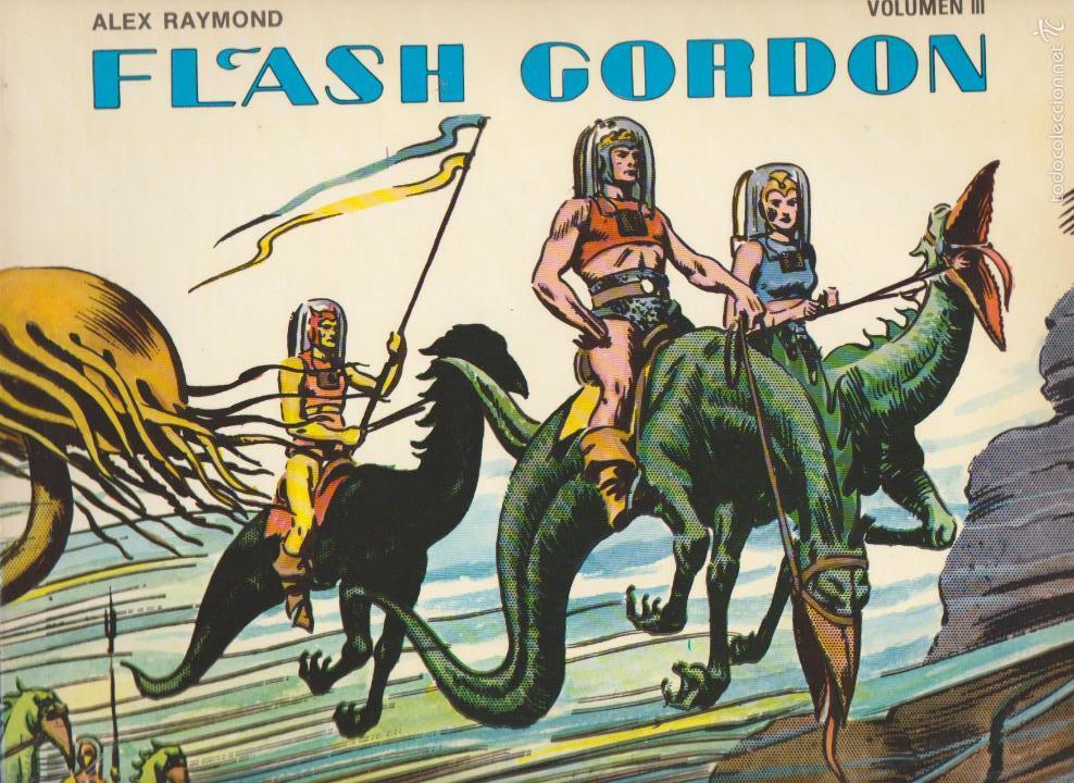 FLASH GORDON VOLUMEN 3. EDICIONES B.O. (Tebeos y Comics - Comics otras Editoriales Actuales)