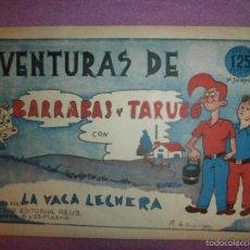 Cómics: TEBEO - AVENTURAS DE BARRABAS Y TARUGO - 1ª JORNADA - INSTITUTO EDITORIAL DE REUS. Lote 57577654