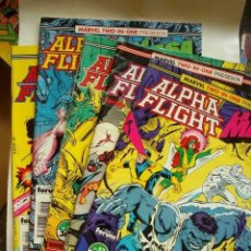 Cómics: ALPHA FLIGHT VOL.1 LOTE DE 45 NºS (FORUM) MARVEL. Lote 72700478