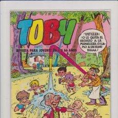 Cómics: TOBY - Nº 21 - EDITORIAL VALENCIANA 75 PTS.. Lote 57660456