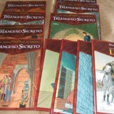 Cómics: EL TRIANGULO SECRETO+INRI COLECCION COMPLETA 11 TOMOS NUEVOS. Lote 57744723