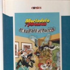 Cómics: COMICS EL PAIS. Nº 3. MORTADELO Y FILEMÓN. EL SULFATO ATÓMICO. EL PAIS 2005. (Z21). Lote 57804294