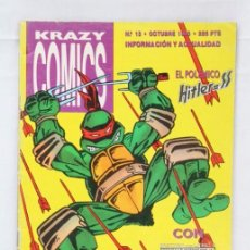 Cómics: CÓMIC / REVISTA LAS TORTUGAS NINJA / OMAHA / ALIENS. Nº 13 - ED. KRAZY COMICS, 1990. Lote 130149882