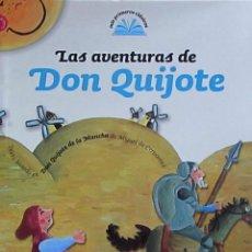 Cómics: LAS AVENTURAS DE DON QUIJOTE. ILUSTRACIONES DE ALICIA GINEBREDA. Lote 57872536