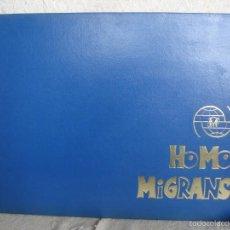 Cómics: HOMO MIGRANS. Lote 57895876