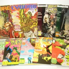 Cómics: LOTE 9 COMICS EN ITALIANO THE WEIRD,GIVE ME LIBERTY,FAFHRD,CYBORG. Lote 52163663