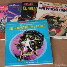 Cómics: LOS NAUFRAGOS DEL TIEMPO 1 2 3 4 5 6 7 8 - PAUL GILLON - 8 ÁLBUMES - MUY BUEN ESTADO - Y SUELTOS. Lote 57967060