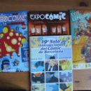 Cómics: REVISTA OFICIAL EXPOCOMIC 2013-2014-2015 + SALON DEL COMIC DE BARCELONA 2001. Lote 57986361