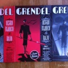 Comics - GRENDEL NEGRO, BLANCO & ROJO COMPLETA 3 TOMOS - ASTIBERRI - MATT WAGNER & OTROS - 57992616