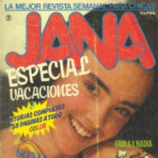 Cómics: JANA. ESPECIAL VACIONES Nº2. CONTIENE UNA HISTORIETA COMPLETA DE JESÚS REDONDO TITULADA EMBRUJADA. Lote 58087144