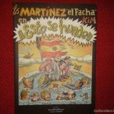Cómics: MARTINEZ EL FACHA EN ESTO SE HUNDE - EDICIONS DE PONENT. Lote 58113009