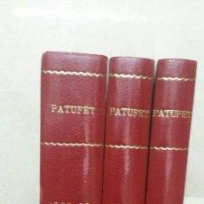 Cómics: PATUFET NO 1 AL 54 AÑOS 1968,1969 Y 1970 SEGUNDA EPOCA 3 VOLUMENES. Lote 58147312