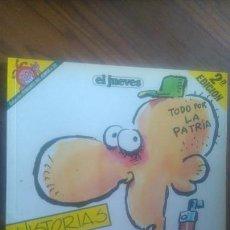 Fumetti: HISTORIAS DE LA PUTA MILI. IVÁ. 2ª EDICIÓN. EL JUEVES. PENDONES DEL HUMOR 22. TOMO BUEN ESTADO.. Lote 58159274