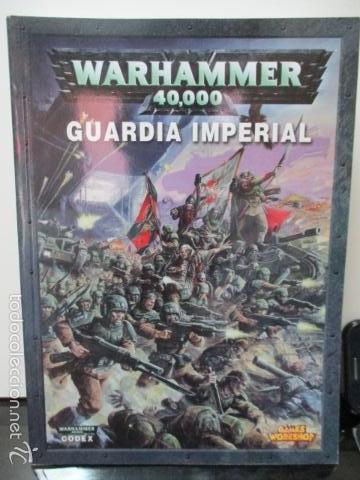 Warhammer 40000 - Codex: Guardia Imperial, usado segunda mano