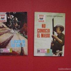 Cómics: SENDAS SALVAJES. 2 COMICS: Nº 183 Y 185 (PRODUCCIONES EDITORIALES, 1970'S) ORIGINALES. COLECCIONISTA. Lote 58220149