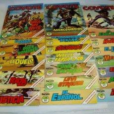 Cómics: COMICS DEL COYOTE DEL Nº 1 AL Nº 20. AÑO 1983. 20 COMICS. Lote 58368210