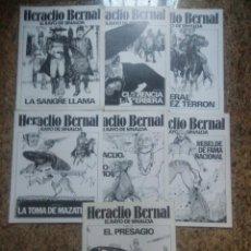 Cómics: HERACLIO BERNAL, EL RAYO DE SINAOLA (COMPLETA) - RANGEL Y GARCIA (AMAIKA 1981). Lote 58413258