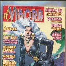 Cómics: EL VIBORA REVISTA NUMERO 165: MONICA & BEA, OTOMO, BETO, ETC. Lote 58462639