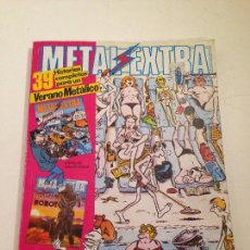Comics: COLECCION COMPLETA DE 1 NUMERO. METAL EXTRA HOLLYWOOD Y ROCK. EUROCOMIC 1982.. Lote 58501409