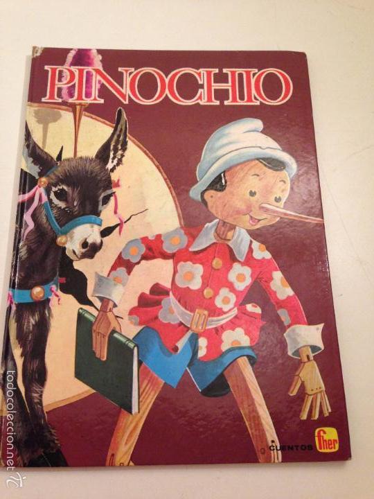 COLECCION NIEVE Nº 1 PINOCHIO. PINOCHO. EDITORIAL FHER. (Tebeos y Comics - Comics Pequeños Lotes de Conjunto)
