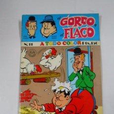 Cómics: GORDO Y FLACO Nº 11. A TODO COLOR. STAN LAUREL. OLIVER HARDY. TDKC17. Lote 58584528