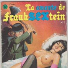 Cómics: LA AMANTE DE FRANKSEXTEIN Nº 7.. Lote 58591074