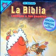Cómics: LA BIBLIA CONTADA A LOS PASOTAS. ¡DIOS MÍO!, J.L. MARTÍN. CÓMIC 1ª EDICIÓN COLECCIONISTA. Nº 49.. Lote 58688637