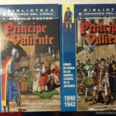 Cómics: PRINCIPE VALIENTE (BIBLIOTECA GRANDES DEL CÓMIC Nº2 + Nº3). Lote 58698590