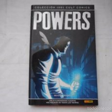 Cómics: POWERS COMICS DE PANINI ( LIBRO DE COLOR). Lote 58700383
