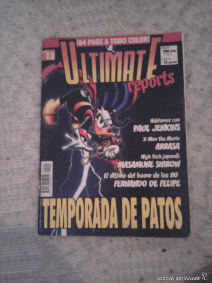 ULTIMATE REPORTS NÚMERO 13 PATOMAS (Tebeos y Comics Pendientes de Clasificar)