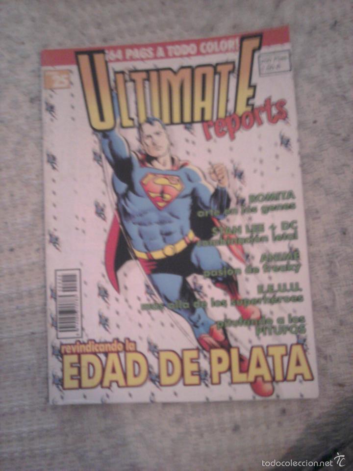 ULTIMATE REPORTS NÚMERO 25 PITUFOS EDAD DE PLATA (Tebeos y Comics Pendientes de Clasificar)
