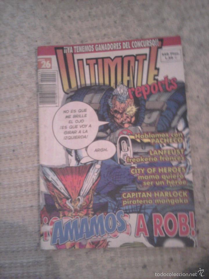 ULTIMATE REPORTS NÚMERO 26 ROB LIEFELD (Tebeos y Comics Pendientes de Clasificar)