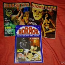 Cómics: LOTE DE COMICS DE TERROR , MONSTERS Y HORROR. Lote 58840881